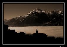 Mer de brouillard sur la plaine du Rhône