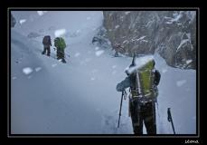 Randonnée dans le massif des Ecrins, guide Daniel Schliefsteiner