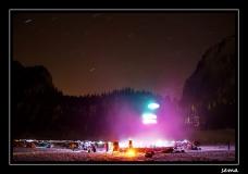 Open jaccuzzi sur lac gelé 5-6 mars 2011